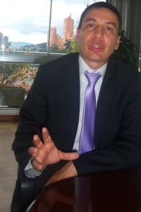 William Camargo Triana, Director del IDU de Bogotá. (Foto: Guillermo Camacho-Cabrera)