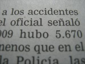 Recorte de prensa (Foto: Guillermo Camacho-Cabrera)