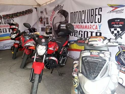 Día Distrital del Motociclista en Bogotá (Cortesía: Jomaga)