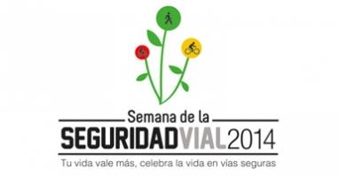 Logo de la VIII Semana de la seguridad vial en Bogotá. (Cortesía: Secretaría Distrital de Movilidad).