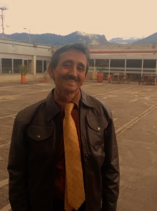 Silvio Rebolledo Manchola, Psicólogo del Tránsito colombiano (Foto: Guillermo Camacho-Cabrera).